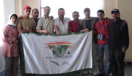 کشور ترکیه - شهر سوشهری 1384 - 2005 گروه بهمراه دوستان مهمان نواز ترکیه